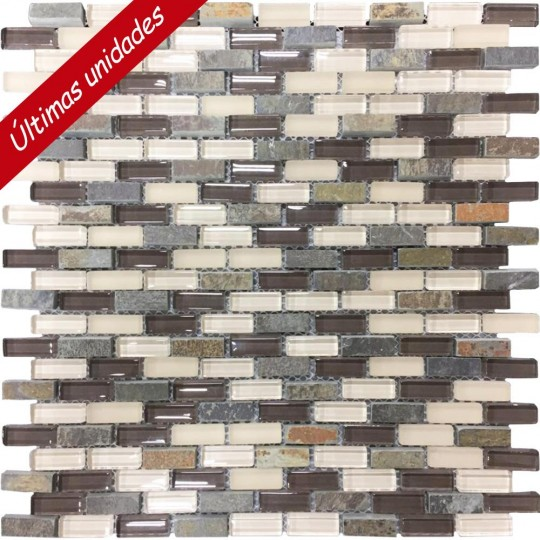 Mosaico Mc Mix BW Soft  V4 - 28.6x30.2 USO:1  Portinari