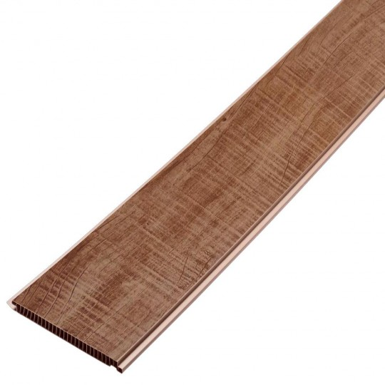 Forro Decor Wood de PVC 200mmx08mm Castanho Araforros