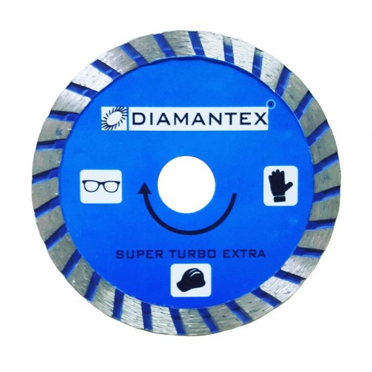 Disco Super Turbo Uso Geral 110mm Azul - Diamantex