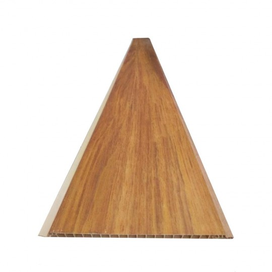Forro Decor Wood de PVC 200mmx08mm Teca Noz Araforros
